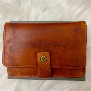NEW Liebeskind Berlin Annie Tab Leather Wallet